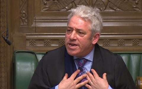 Self-important, but not servile: the pride and prejudice of John Bercow