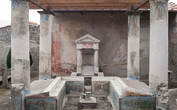 A 2,000-year-old ancient Roman laundromat open to public for first time