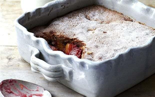 Seasonal sponge pudding recipe