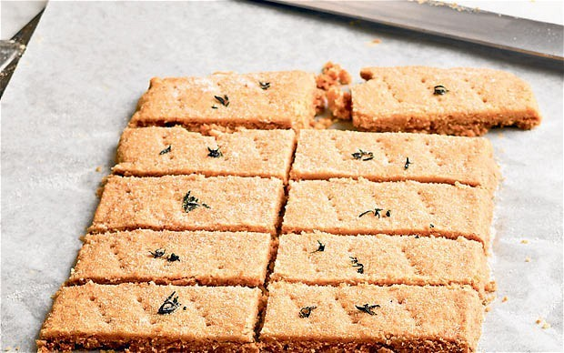 Rose Prince's Baking Club: thyme shortbread
