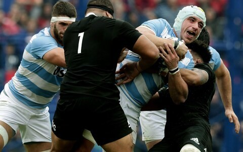 All Blacks survive huge scare to beat Argentina by just four points in nailbiting Rugby Championship clash