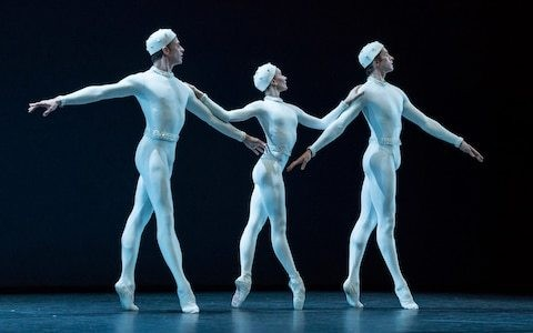 Merce Cunningham cententary, Royal Ballet, Linbury Theatre, review: a starry little evening of crystalline treats