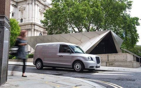 LEVC LCV revealed: new black cab spawns hybrid van built for London's crowded streets
