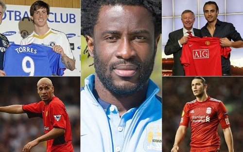 Top 10 most expensive transfers between Premier League clubs  - Telegraph