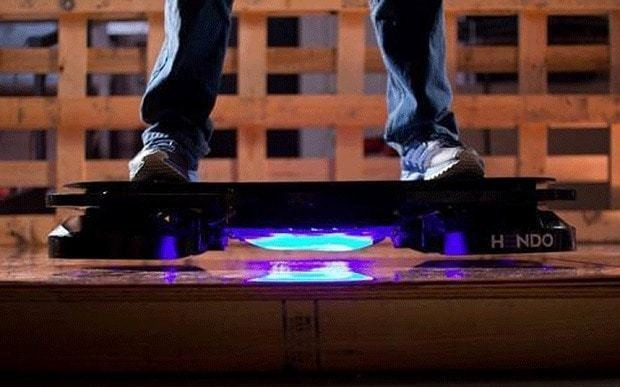 Go Back To The Future with the world's first hoverboard