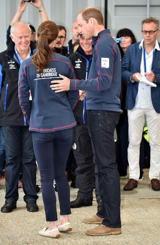 Kate Middleton and Prince William's day at America's Cup in Portsmouth blown off course