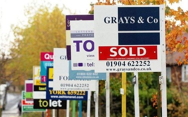 UK house prices to rise by a quarter with London average to hit £500,000 by 2018 - CEBR