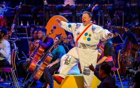 CBeebies Prom: Hans Zimmer, the Clangers, Mr Tumble and more - review