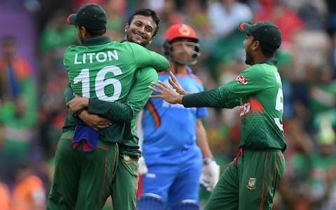 Shakib Al Hasan's all-round brilliance inspires Bangladesh to victory over Afghanistan and within one point of England