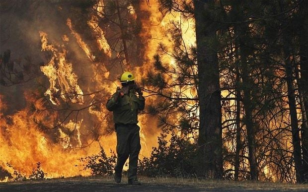 California wildfire threatens Yosemite reservoir serving San Francisco