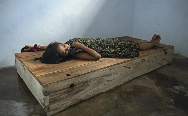 'Living in hell': 18,800 Indonesians shackled for mental health conditions