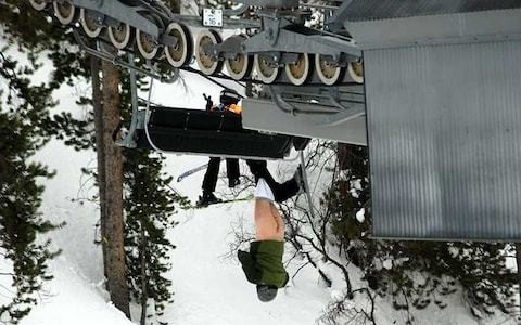 The best (and most terrifying) ski chairlift fails