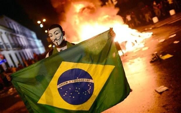'World Cup for who?' Football tournament draws Brazilian backlash