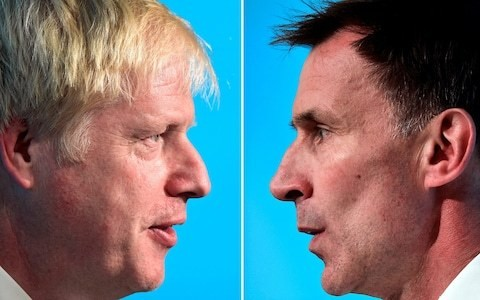 Jeremy Hunt challenges Boris Johnson to rule out handing Nicola Sturgeon more tax powers