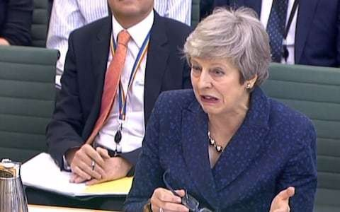 I'm very clear: no one dodges questions quite like Theresa May
