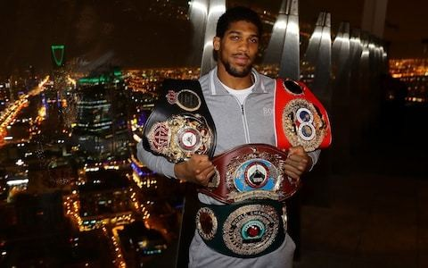 Anthony Joshua: I want to defend by belts in Nigeria