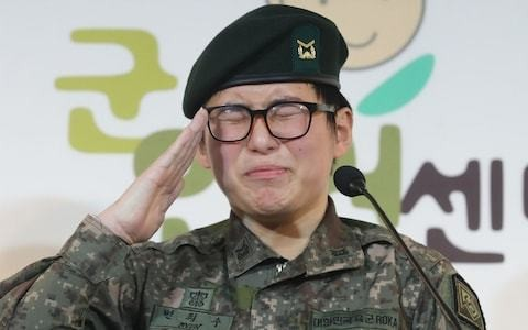 South Korean military to discharge first transgender soldier in landmark case