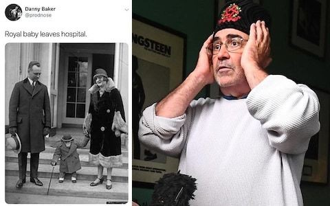 Danny Baker royal baby chimpanzee tweet: Ex-BBC presenter reveals how 'panic and revulsion' washed over him after picture