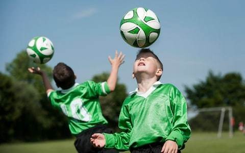Raising a risk taker: why I'm happy for my young sons to head a football