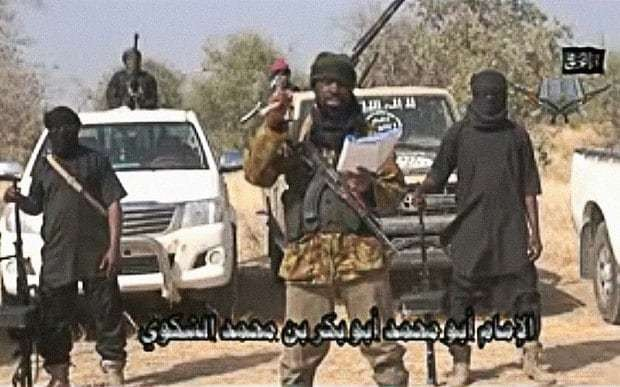 Boastful Boko Haram leader throws down gauntlet to 'kings of Africa', saying 'come and get me'