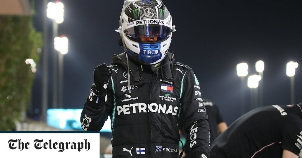 Sakhir Grand Prix: George Russell narrowly misses out on dream pole as Valtteri Bottas ends qualifying quickest