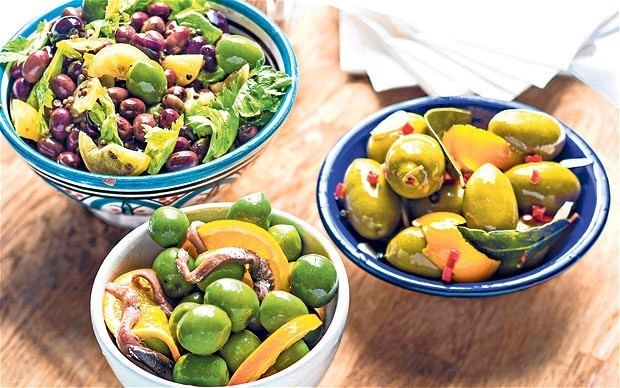 Olive recipes: more than just a nibble