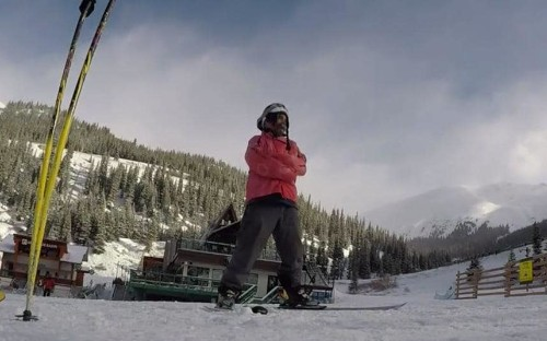 Colorado man sets world speed record for skiing in a straitjacket