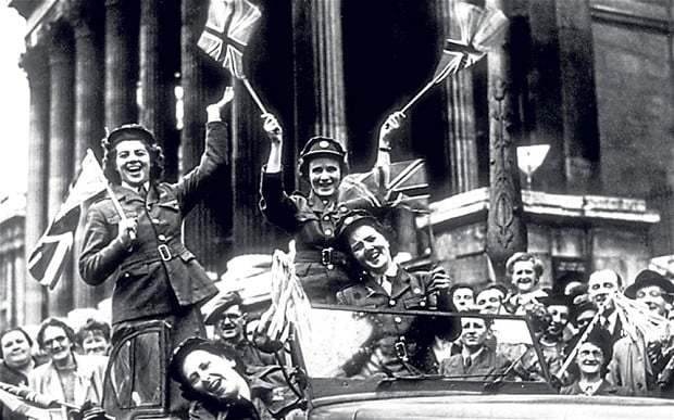World War what? Half of young people have no idea what VE day marks
