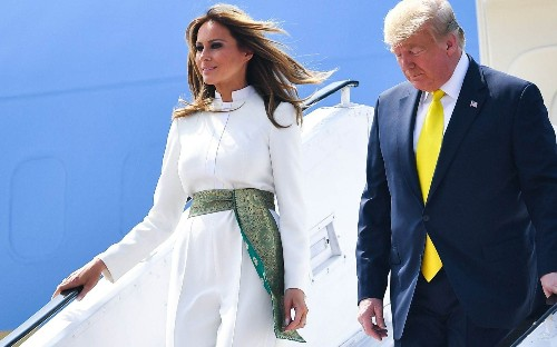 Why this India tour offers a uniquely important fashion moment for Melania Trump