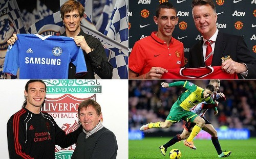Why being your club's record signing isn't always a good idea