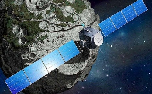 Nasa to visit mysterious metal asteroid which could be core of lost planet