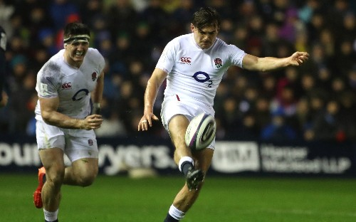 England full-back George Furbank taking positives from challenging introduction to international rugby