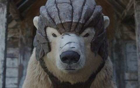 His Dark Materials, episode 4, review - the arrival of an angry polar bear and Lin-Manuel Miranda kicked this series back into gear