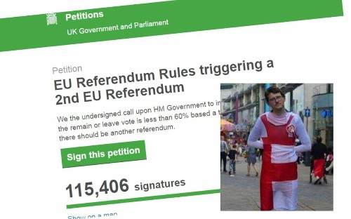 Petition calling for second EU referendum was created by a Leave voter – and he's not happy that it's been 'hijacked' by Remain