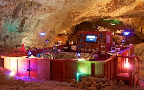 Inside the Grand Canyon's secret underground hotel room