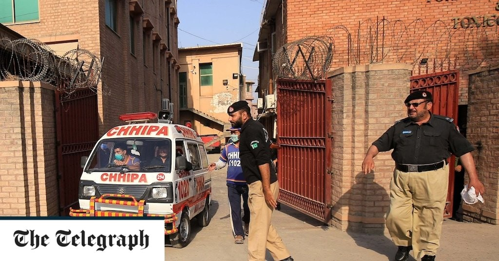 Pakistan man accused of blasphemy shot dead in courtroom