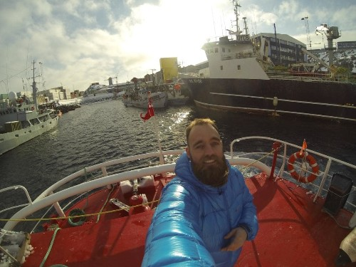 Meet the man who has spent three years travelling the world for free on container ships