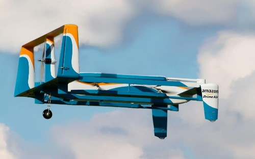 Amazon drones could be used to film your home and spot intruders, patent reveals