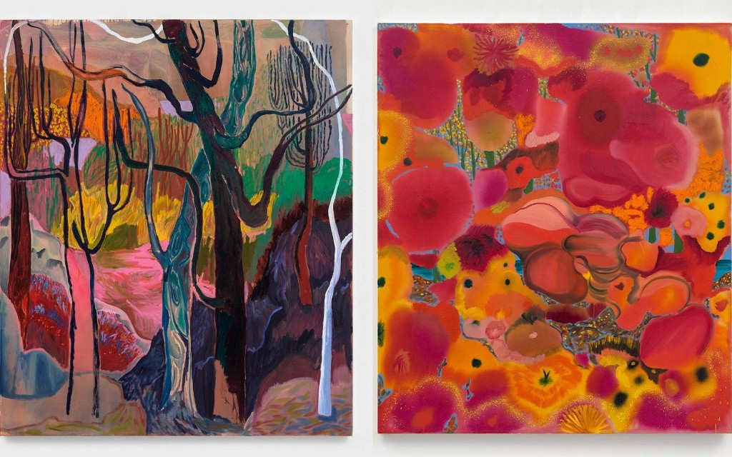 A red-hot US artist is having her first London exhibition for 10 years