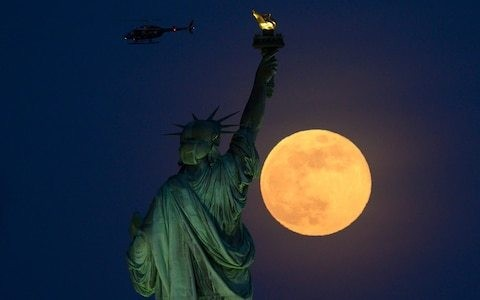 Full moon dates for 2019, including June's Strawberry Moon