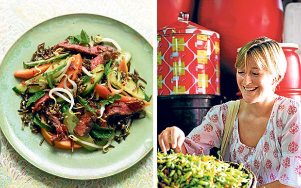 My favourite dish: Ghillie James's Vietnamese beef salad
