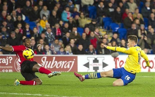 Cardiff City 0 Arsenal 3: match report