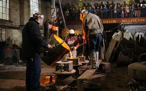 Why Britain's last bell foundry is fighting for its life