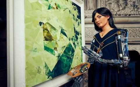 Meet Ai-Da: the robot artist giving real painters a run for their money
