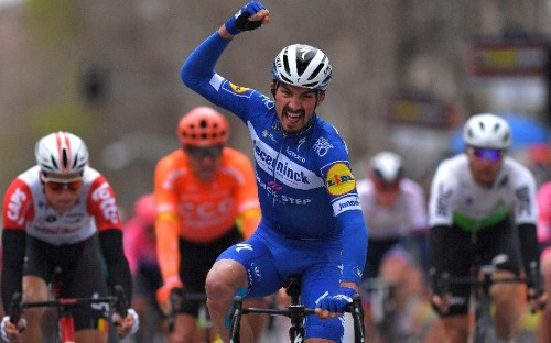 Tirreno-Adriatico 2019 – stage six results and standings: Julian Alaphilippe wins sprint finish as Adam Yates keeps leader's jersey