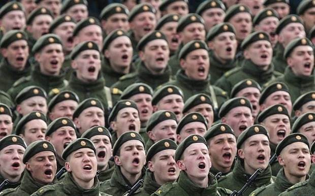 Russia and Nato 'actively preparing for war'