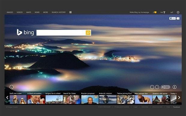 Microsoft Bing search engine gets a makeover