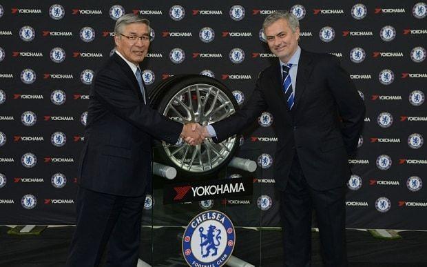 Chelsea to sign £40m-a-year Yokohama Rubber shirt sponsorship deal