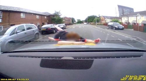 Boy bounces off van after 20mph collision