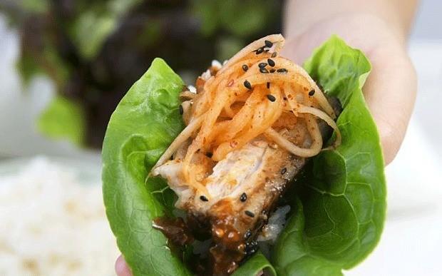 Korean food recipe: roasted pork belly bossam